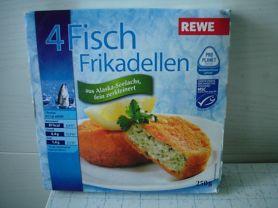 Fischfrikadelle, fein zerkleinert, paniert   Hochgeladen von: Connymaxi
