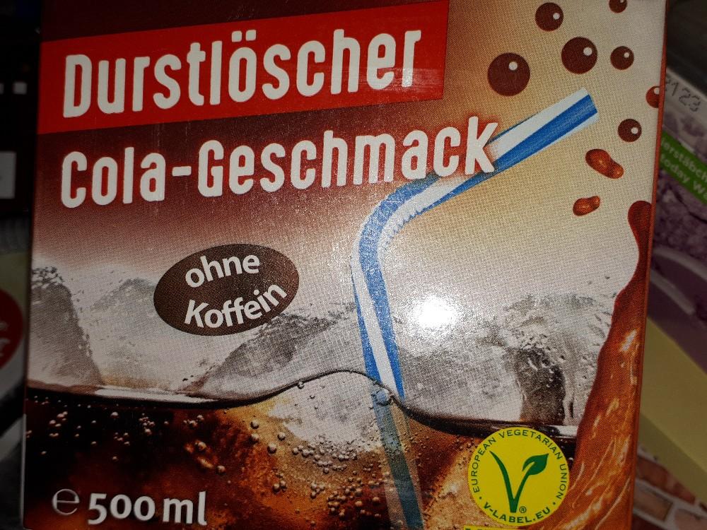 Durstlöscher Cola-Geschmack, ohne Koffein von BlueSoul   Hochgeladen von: BlueSoul