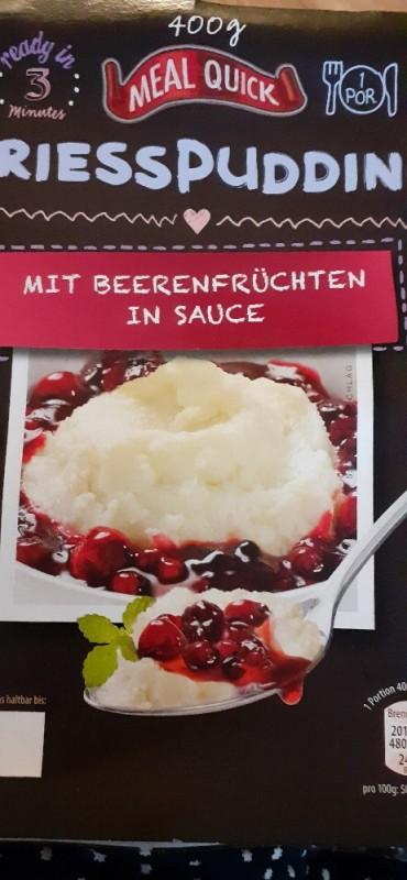 Griesspudding, mit Beeren in Sauce von medinilla1968 | Hochgeladen von: medinilla1968