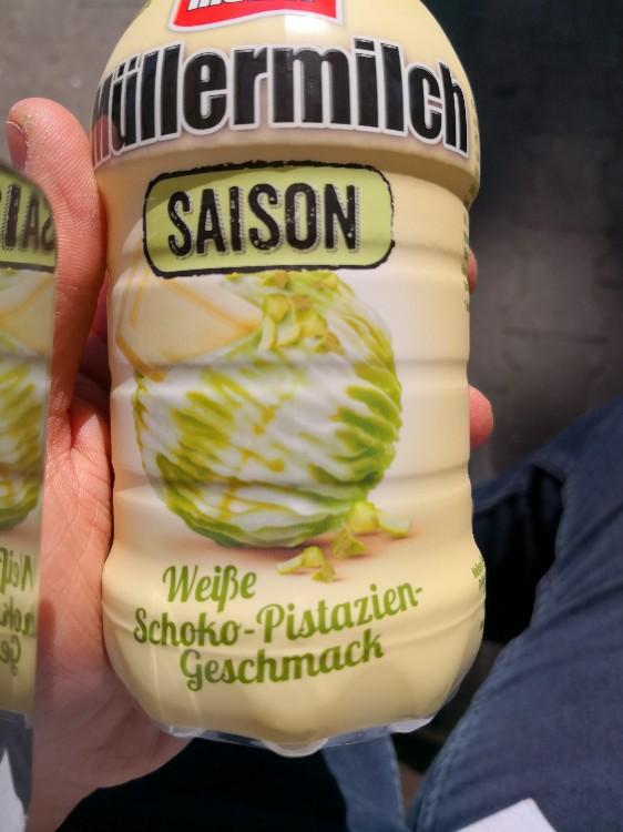 Weiße Schoko-Pistaziengeschmack von Taxeo | Hochgeladen von: Taxeo