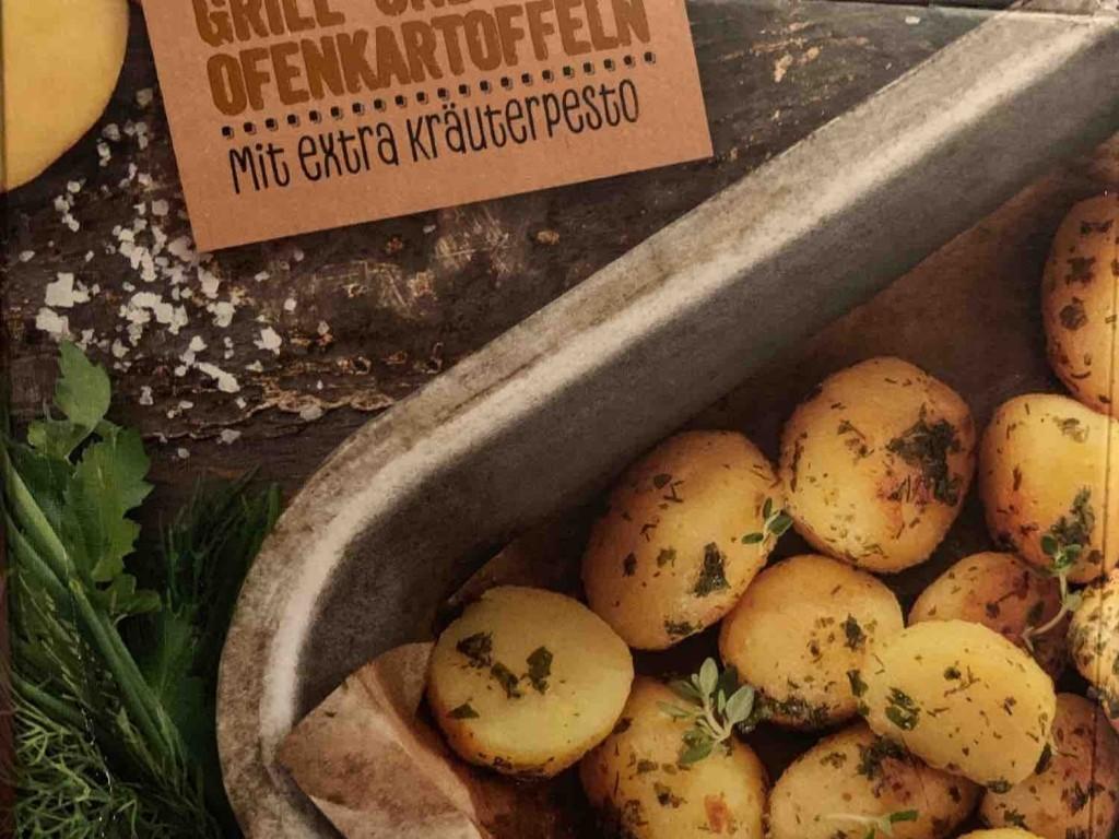 Grill- und Ofenkartoffeln, mit extra Kräuterpesto von postbuedel | Hochgeladen von: postbuedel