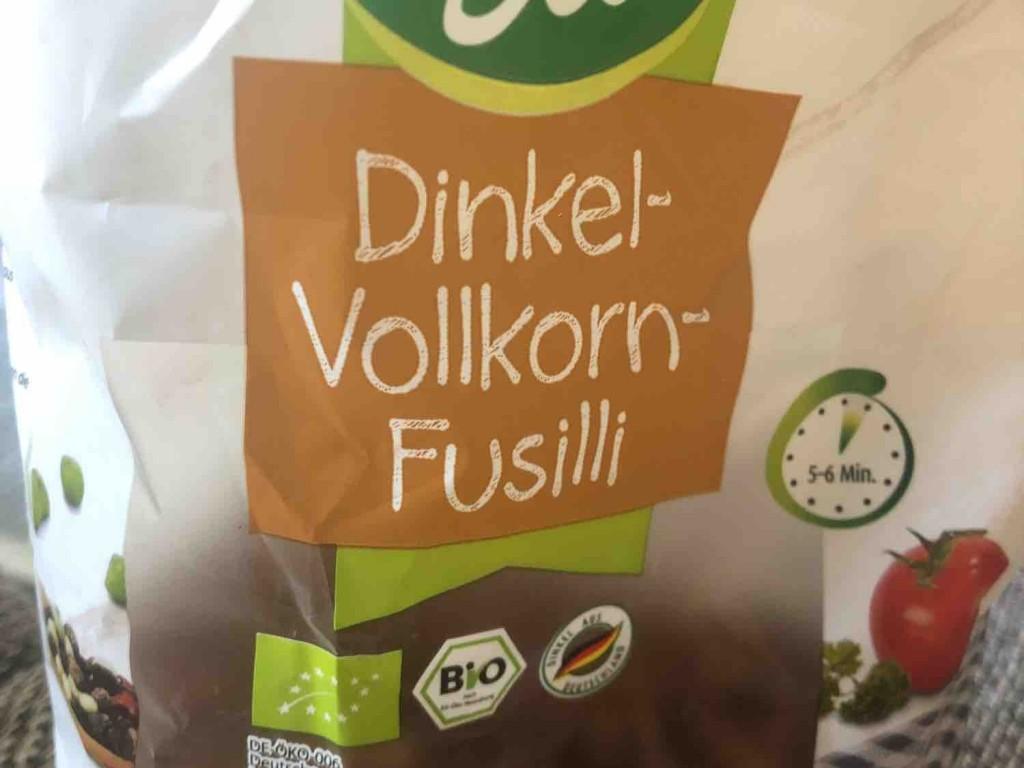 Dinkel Vollkorn Fusilli von Liez   Hochgeladen von: Liez
