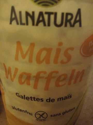 Maiswaffel, mit Meersalz von GisaP | Hochgeladen von: GisaP