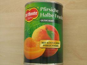 Del Monte, Pfirsich Halbe Frucht   Hochgeladen von: Teecreme