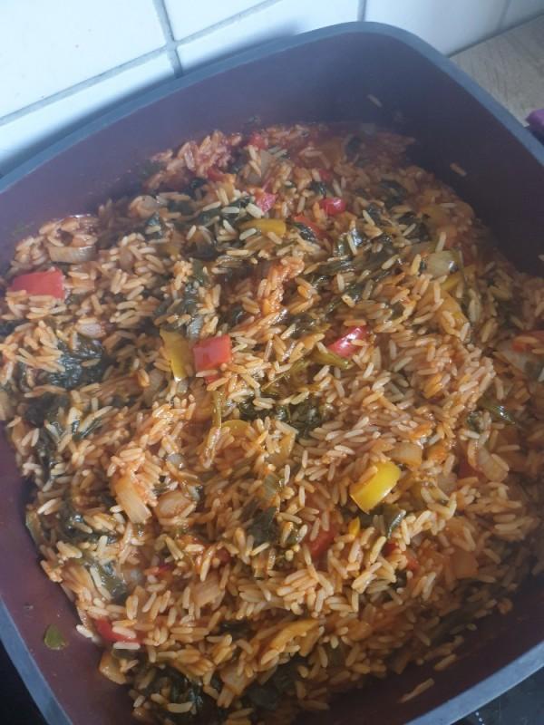 Gemüse-Reis-Pfanne von Littlefitnessqueen   Hochgeladen von: Littlefitnessqueen