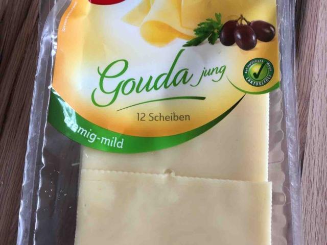 Gouda jung, in Scheiben  von Ke1606 | Hochgeladen von: Ke1606