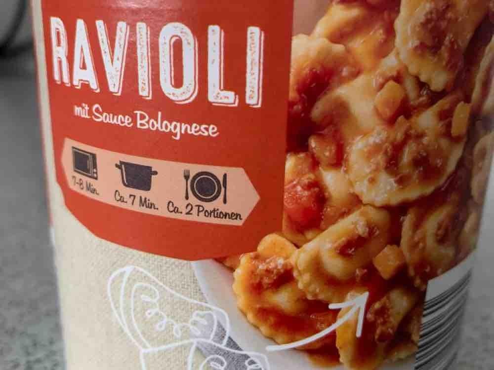 Ravioli, mit Sauce Bolognese von scheneinah | Hochgeladen von: scheneinah