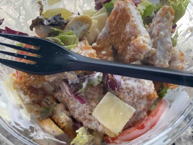 Crispy Chicken Caesar Salad von Maya2010 | Hochgeladen von: Maya2010