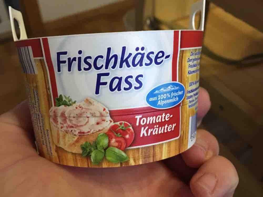 Frischkäse-Fass, Tomate-Kräuter von PummelBaer | Hochgeladen von: PummelBaer