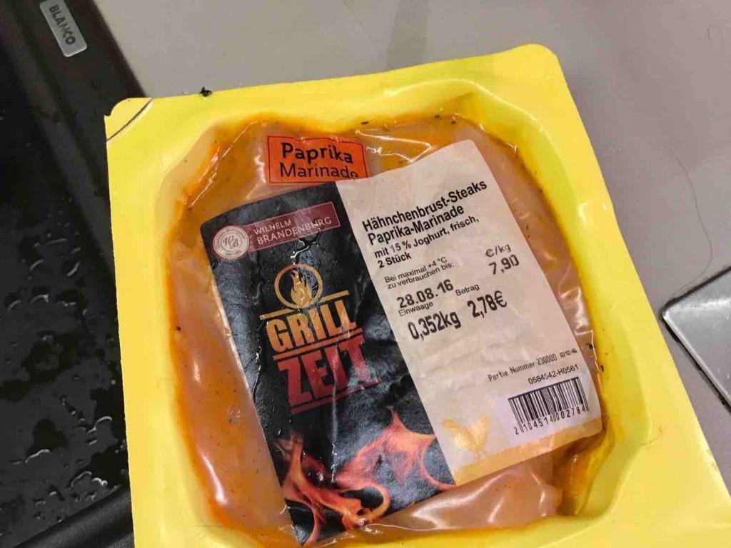 marinade steak paprika