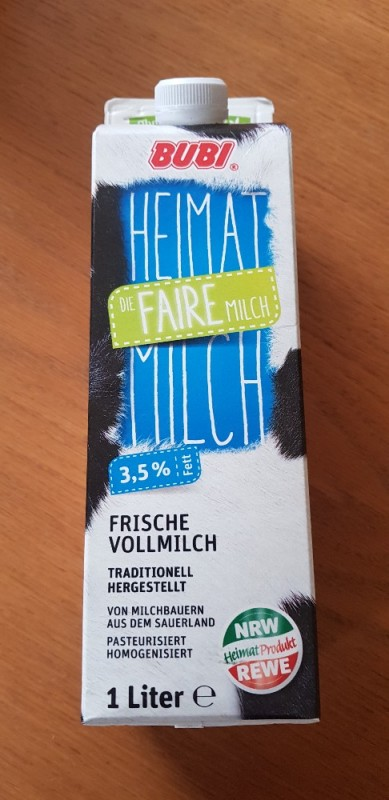 Heimatmilch 3,5 % von Daumenschraube   Hochgeladen von: Daumenschraube