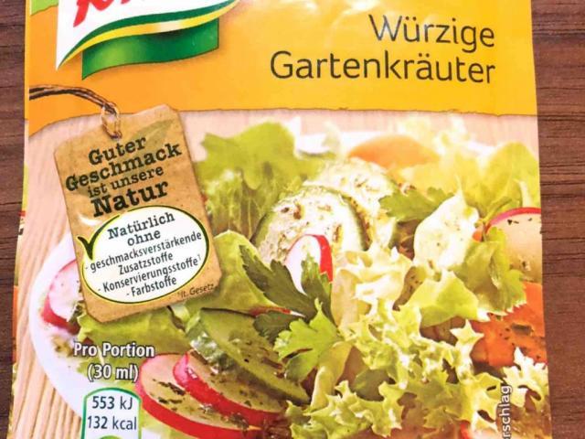 Salatkrönung - Würzige Gartenkräuter (zubereitet), von Knorr von akoehlerschwar980 | Hochgeladen von: akoehlerschwar980