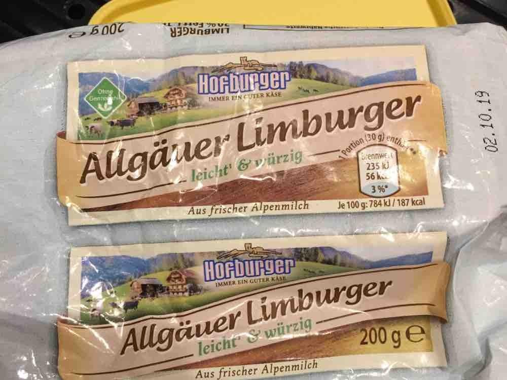 Allgäuer Limburger 20% Spitzbube von katze19 | Hochgeladen von: katze19