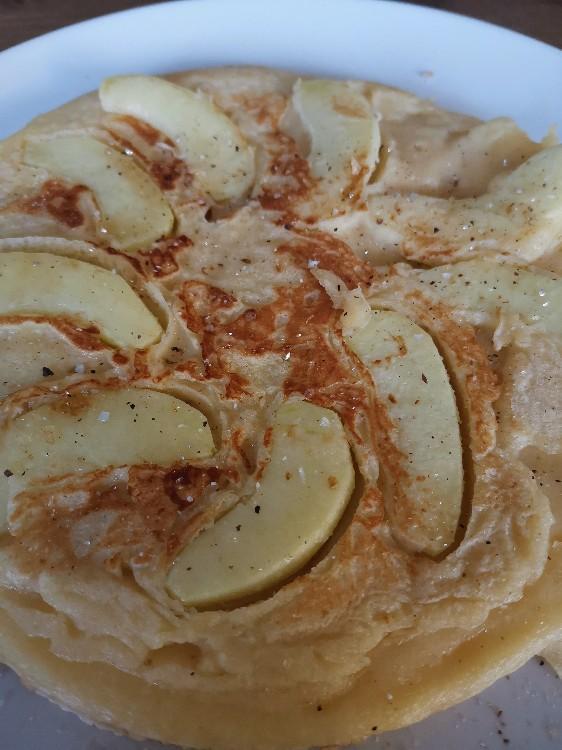 selbstgemacht pfannkuchen mit apfel kalorien backwaren