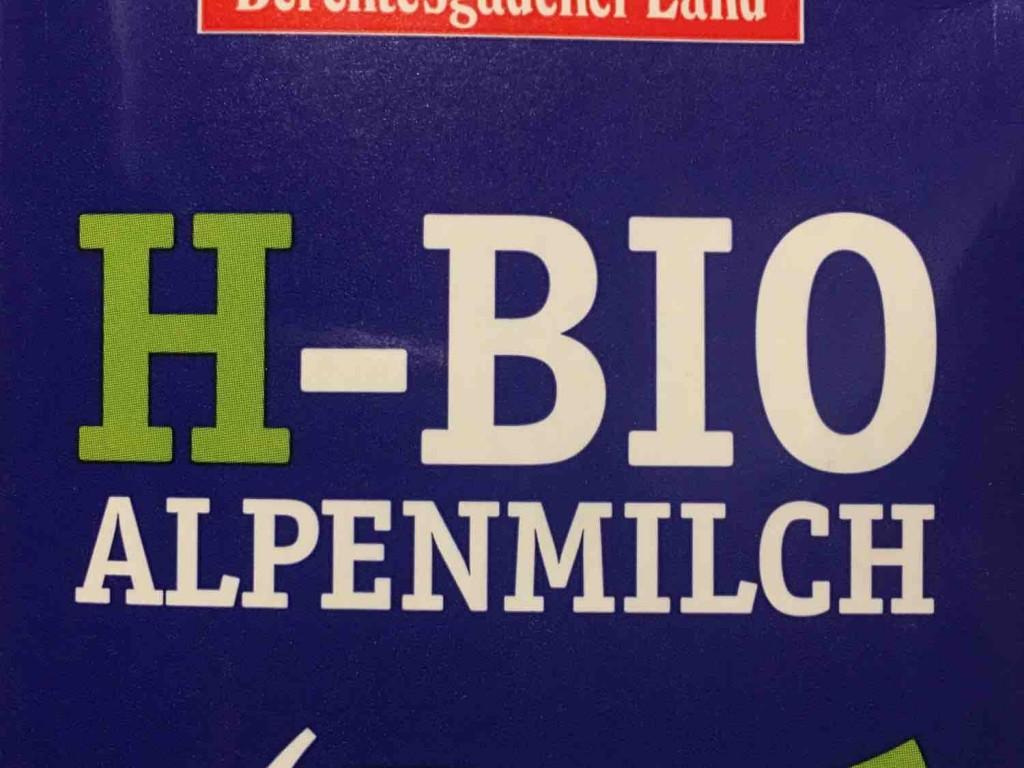 H-Bio Alpenmilch , Laktosefrei (3,5 % Fett) von mastx | Hochgeladen von: mastx