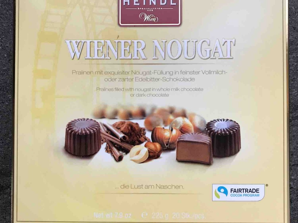 Wiener  Nougat, Pralinen mit  Nougat-Fllung von maus2006 | Hochgeladen von: maus2006