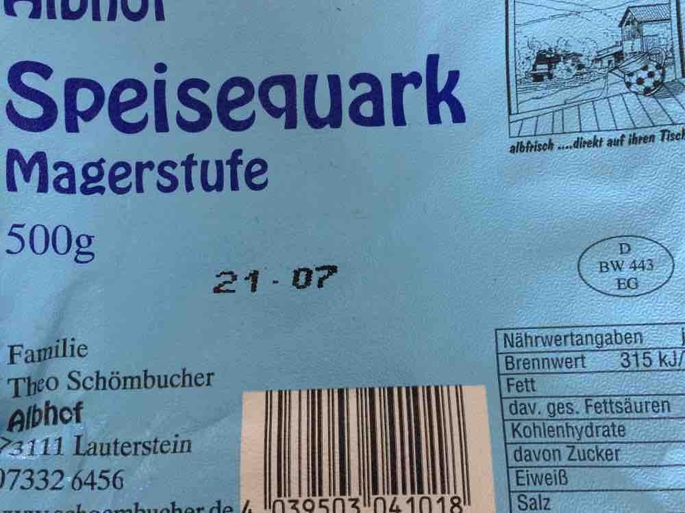 Albhof Speisequark Magerstufe von sabrinaschnurr233 | Hochgeladen von: sabrinaschnurr233