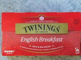 Twinings English Breakfast, Schwarztee-Mischung   Hochgeladen von: ottigreat
