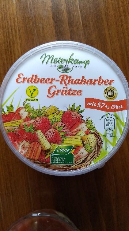 Erdbeer-Rhabarber Grütze von eurotach883 | Hochgeladen von: eurotach883