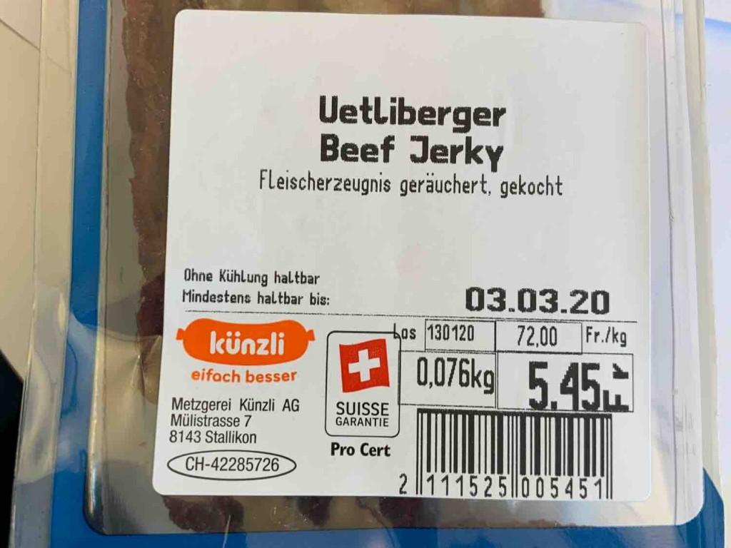 Uetliberger Beef-Jerky von cmc1974 | Hochgeladen von: cmc1974