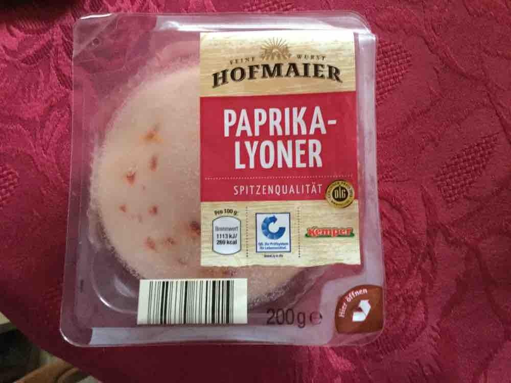 Paprika Lyoner von MFelgner | Hochgeladen von: MFelgner