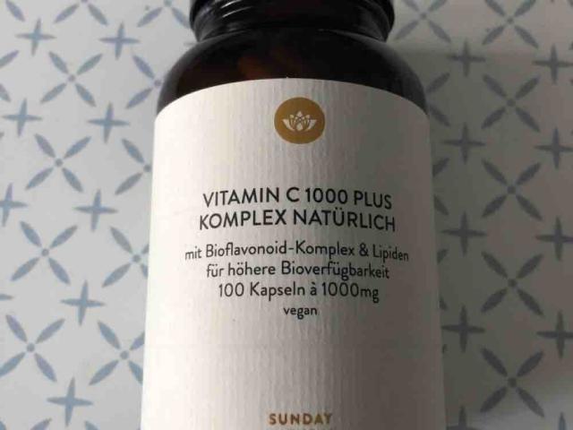 Vitamin  C 1000 Plus Komplex Natürlich von Schanine | Hochgeladen von: Schanine