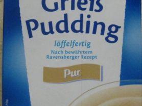 Grieß Pudding löffelfertig, pur | Hochgeladen von: dirkibus