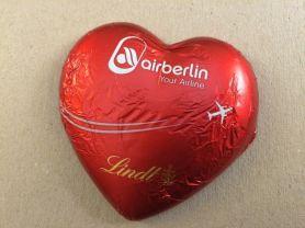 Air Berlin Herz Alpenvollmilch-Schokolade, von Lindt & S | Hochgeladen von: puscheline