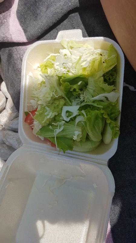Saison-Salat, Blattsalate der Saison mit Weißkraut von Mao75 | Hochgeladen von: Mao75