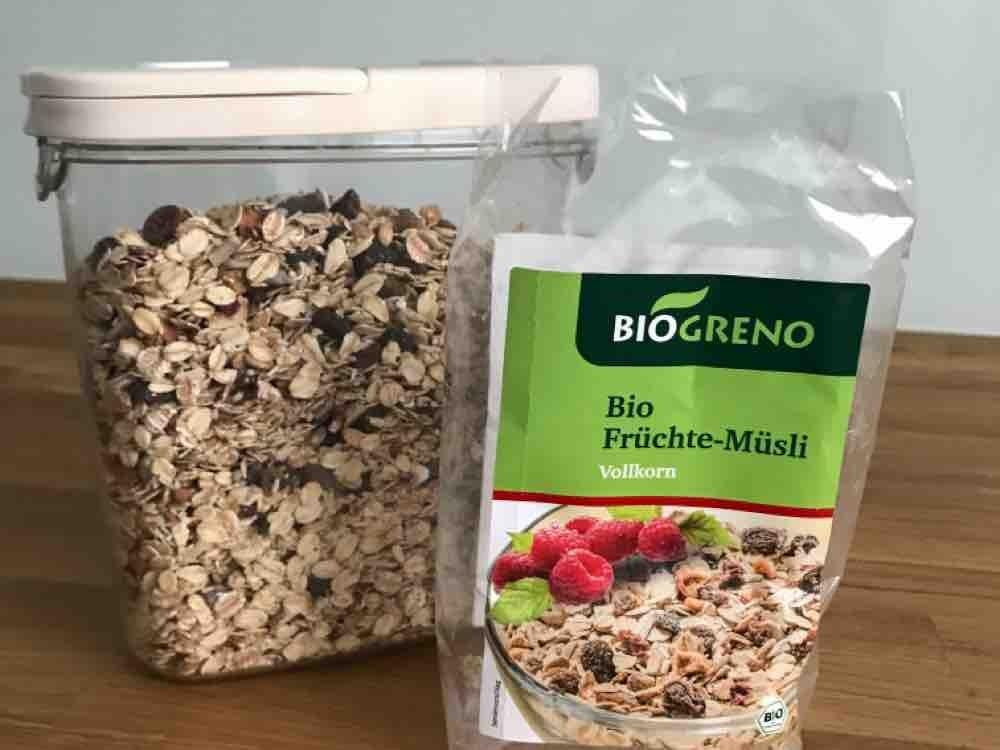 BioGreno Bio Früchte-Müsli, Vollkorn von OzeanWal   Hochgeladen von: OzeanWal