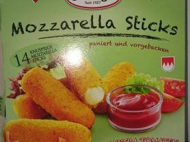 Mozzarella Sticks, paniert und vorgebacken | Hochgeladen von: ArchieFirebird