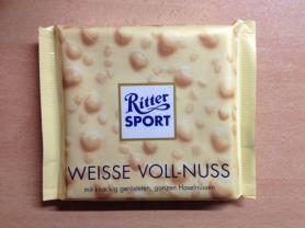 Ritter Sport, Weisse Voll-Nuss   Hochgeladen von: xmellixx