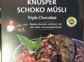 Premium Knusper Schoko Müsli Triple Chocolate (Netto), Schok | Hochgeladen von: Maqualady