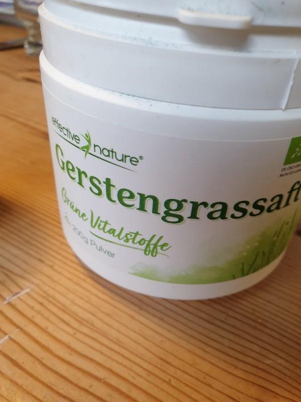 Gerstengrassaftpulver von juute | Hochgeladen von: juute
