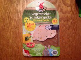 Vegetarischer Schinken Spicker, mit bunter Paprika | Hochgeladen von: dizoe