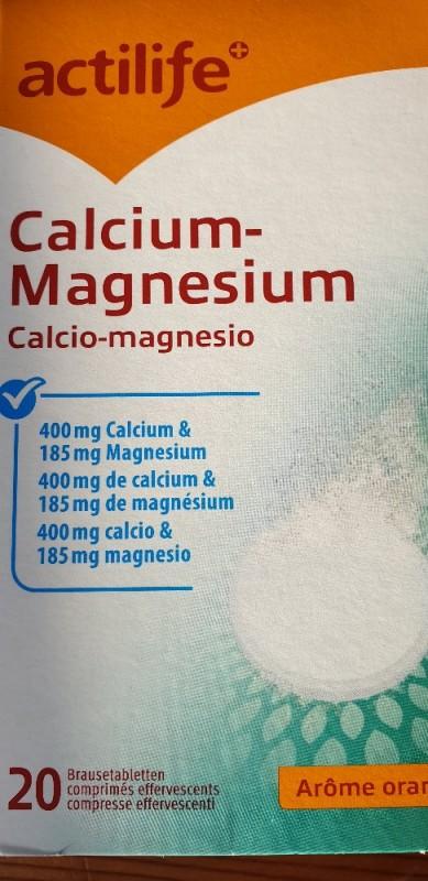 actilife Calcium-Magnesium (1 Tablette), Orange von chli | Hochgeladen von: chli