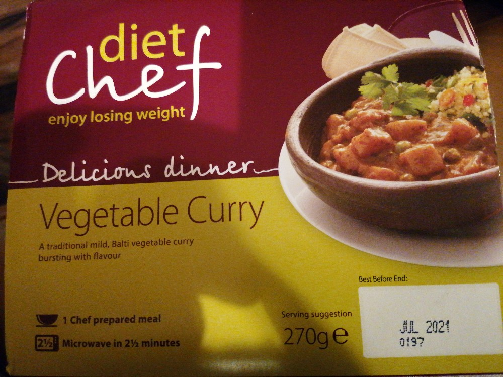 diet chef Vegetable Curry, Currygemüse von Lemmi | Hochgeladen von: Lemmi
