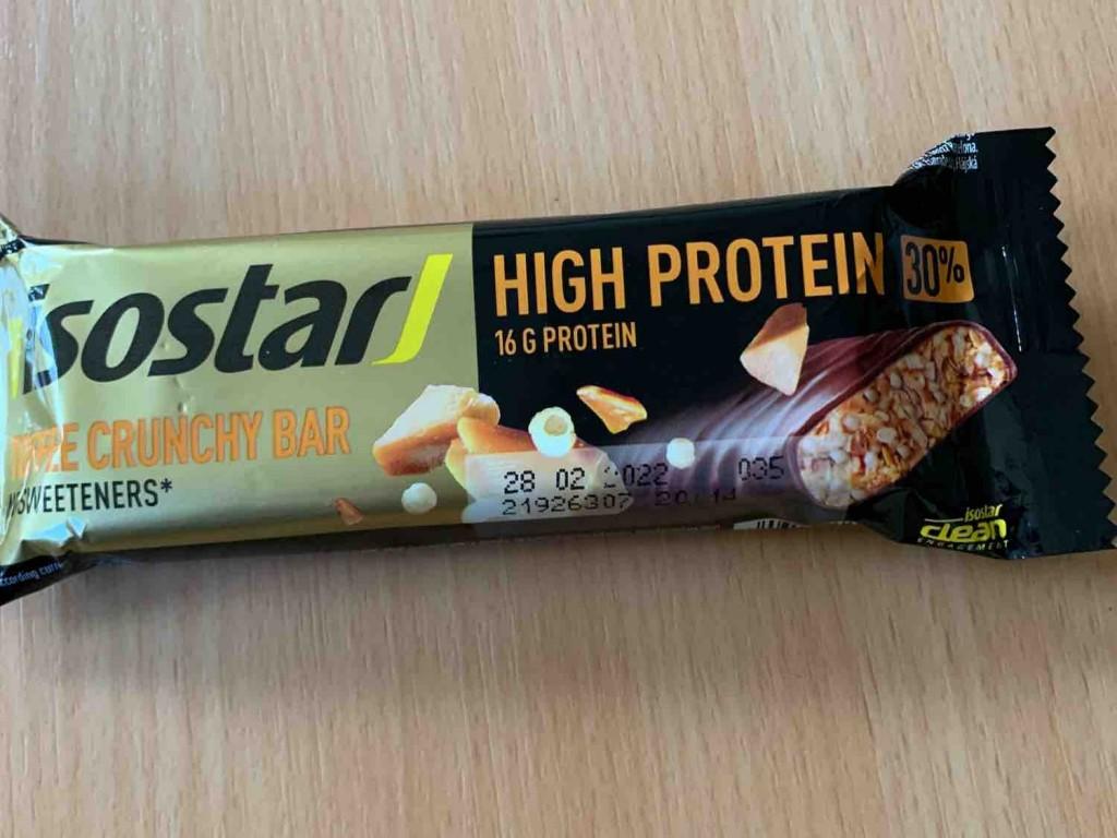 High Protein Riegel, Toffee Crunchy Bar von marvinmoessler | Hochgeladen von: marvinmoessler
