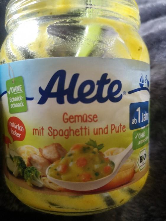 Gemüse mit Spaghetti und Pute, ab 1 Jahr von Uschi1 | Hochgeladen von: Uschi1