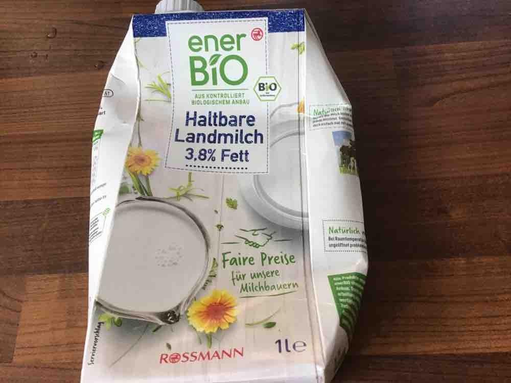 enerBio haltbare Landmilch 3,8% von mistertv86   Hochgeladen von: mistertv86
