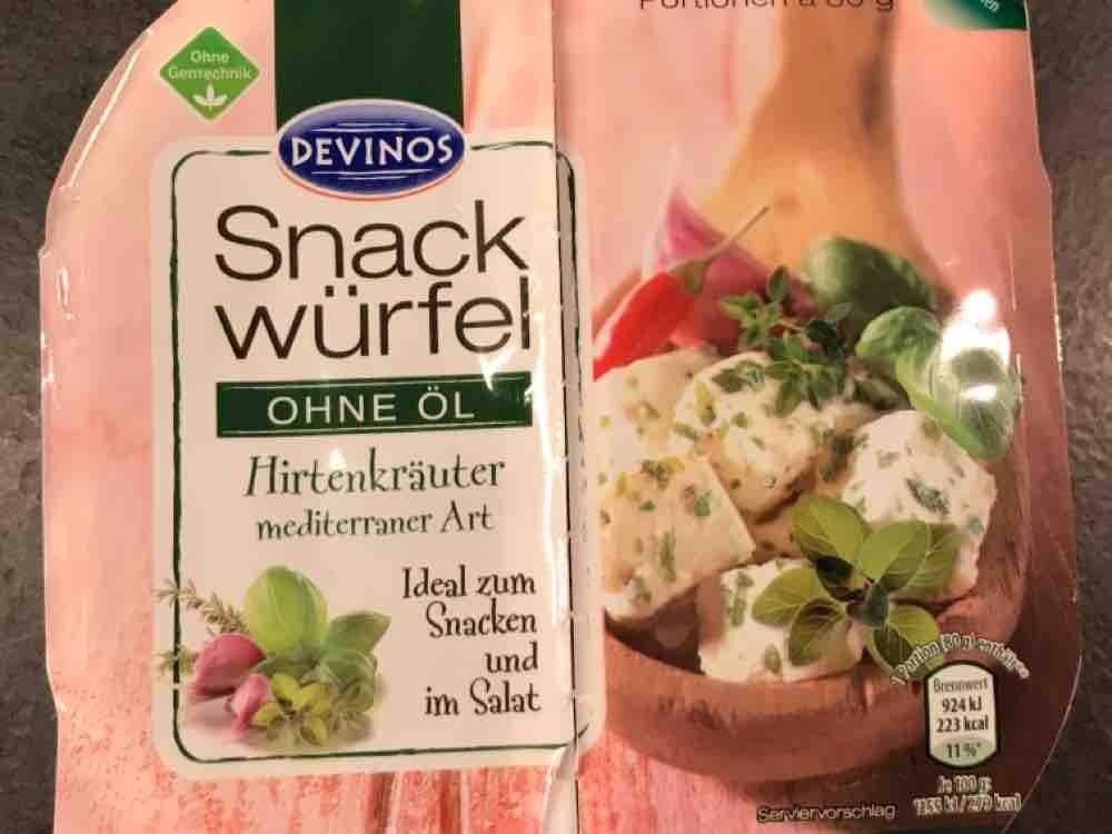 Snack Würfel, Hirten-Kräuter mediterrane Art von jahnator   Hochgeladen von: jahnator