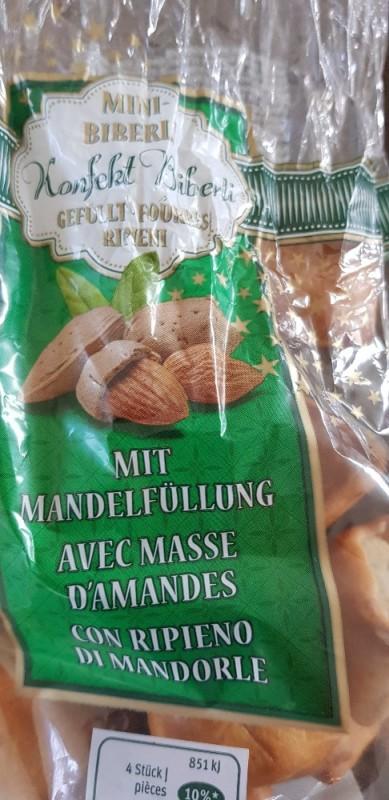 Konfekt Biberli gefüllt mit reiner Mandelfüllung von Kessu5   Hochgeladen von: Kessu5