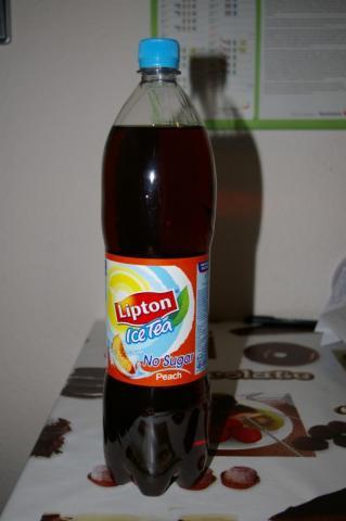Lipton Ice Tea, Peach no Sugar   Hochgeladen von: Chivana