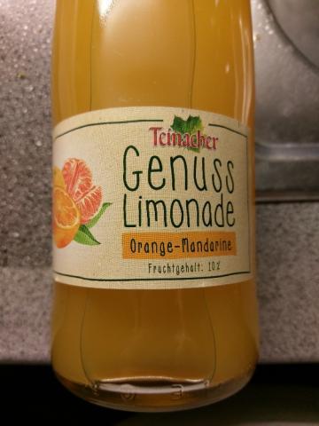 Teinacher Genuss Limonade - Orange/Mandarine von Nuxnix | Hochgeladen von: Nuxnix