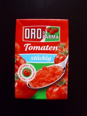 ORO Di Parma Tomaten, stückig   Hochgeladen von: Pummelfee71