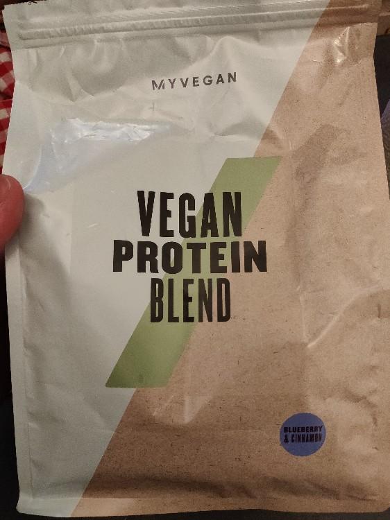 Vegan Protein Blend, Blueberry & Cinnamon von mauri0dorl | Hochgeladen von: mauri0dorl