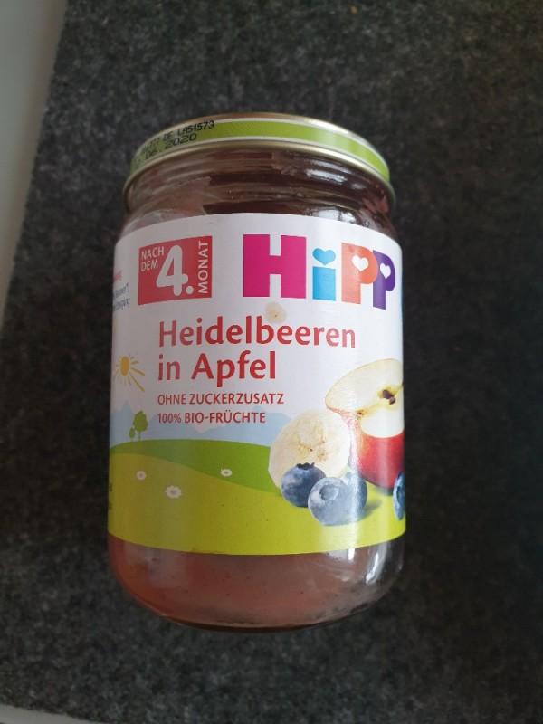 Heidelbeeren in Apfel, ohne Zucker von Halloeule   Hochgeladen von: Halloeule