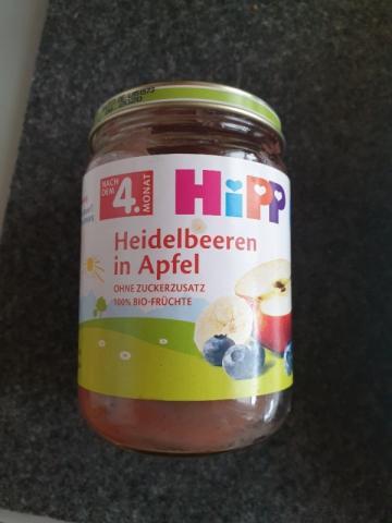 Heidelbeeren in Apfel, ohne Zucker von Halloeule | Hochgeladen von: Halloeule