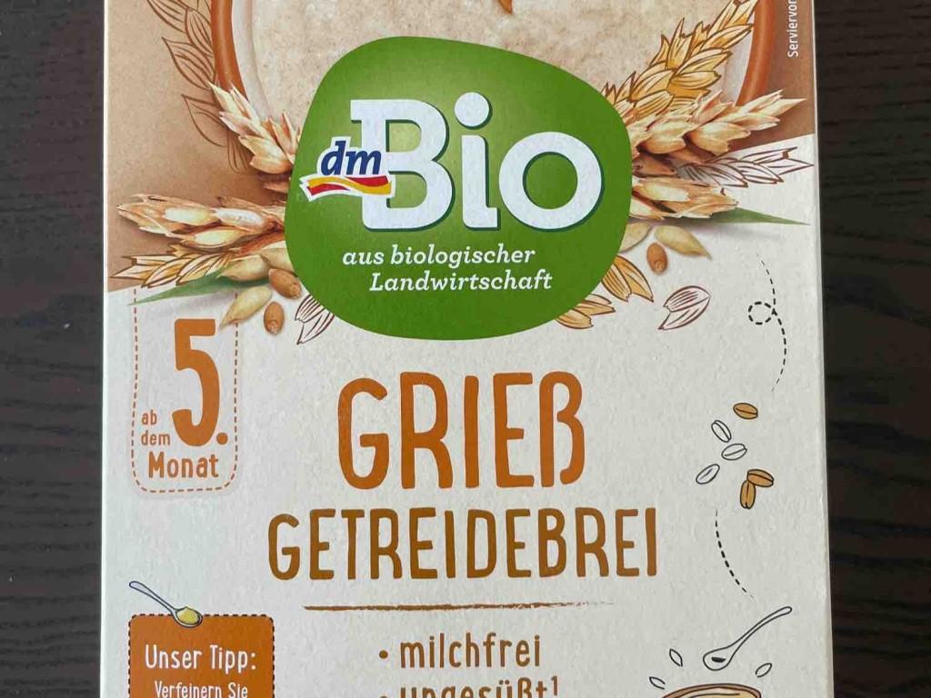 Grieß Getreidebrei, milchfrei, ungesüßt von mariusbnkn   Hochgeladen von: mariusbnkn
