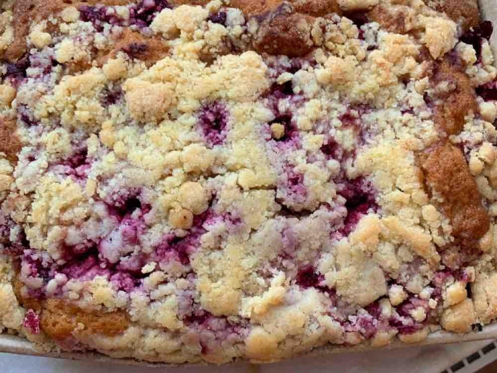 Dinkelkuchen mit Kirschen und Butterstreusel von georg55   Hochgeladen von: georg55